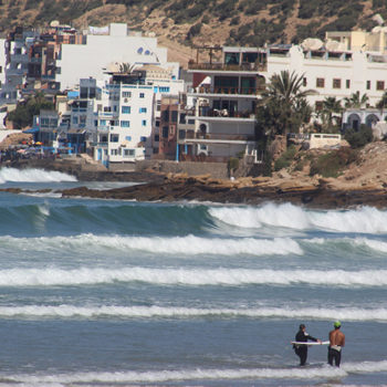 Surf Guiding Package Taghazout bay - Azul Guesthouse