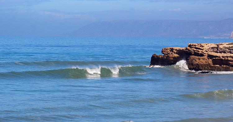 Surf Spots Morocco Devils Rock - Azul Guesthouse