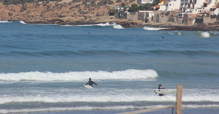 Surf Spots Morocco Panorama Surf Taghazout - Azul Guesthouse