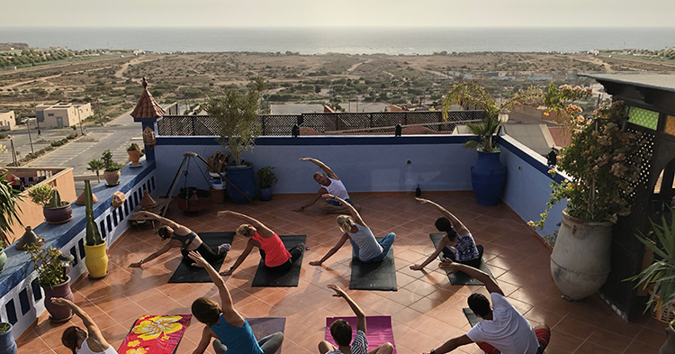 yoga azul guesthouse taghazout bay
