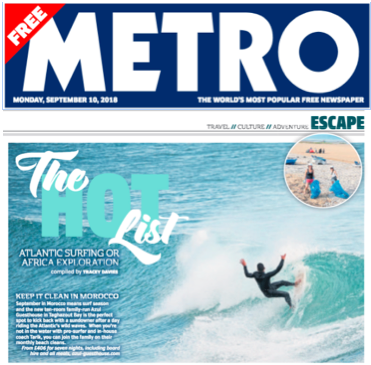 Press: Metro UK, 14 September 2018