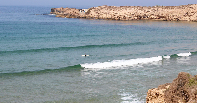 Surf Spots Morocco Cathedral of Imsouane - Azul Guesthouse