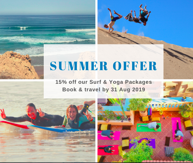 Summer Surf & Yoga 15% Offer