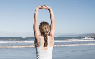 Post Surfing Yoga