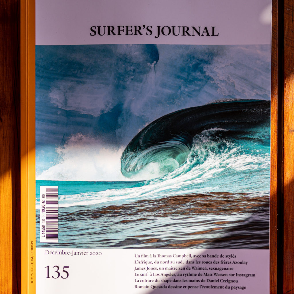 Azul Guesthouse featured on The Surfer's Journal 135 !