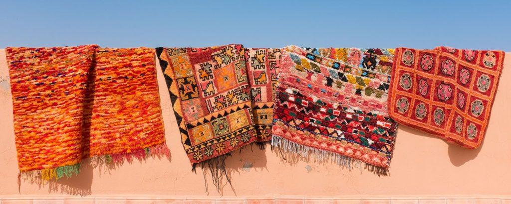 A quick guide through Moroccan Carpets