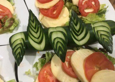 Azul salade