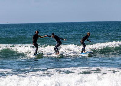 Azul surfing