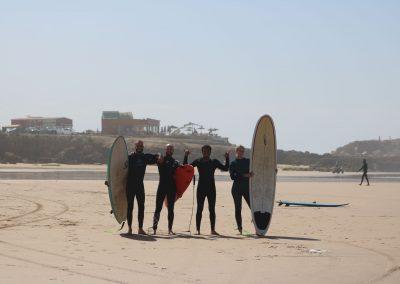 Azul surf family