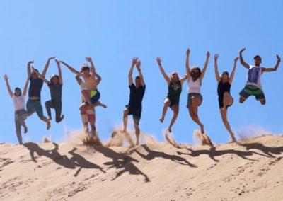 Azul family sand dunes