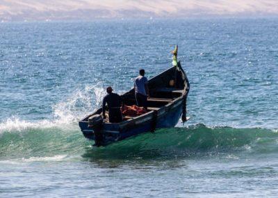 Azul fishing with Bohcine
