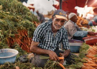 Azul local market