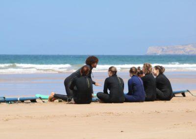 Azul surf lesson