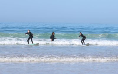 A day of surfing experience at Azul Guesthouse